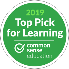 Common Sense Learning Top Pick for Learning 2019
