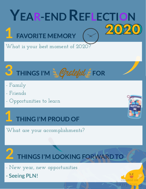 Buncee - Template - Year-End Reflection